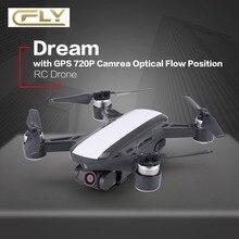 C-FLY Мечта 5 г высота Удержание Drone gps оптического потока позиционирования Follow Me RC Quadcopter с 720 P FPV, 1080 P видео HD Камера
