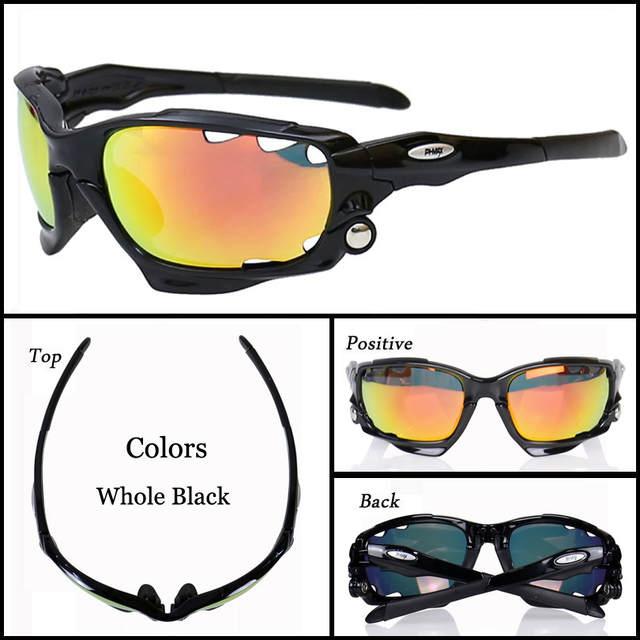 0f5cb284a8030 Marca 2018 Novos Óculos de Ciclismo Lente 3 PHMAX Mountain Bike Óculos  Ciclismo óculos de Sol