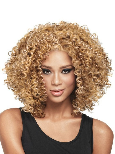 1PC Afro Kinky Curly Wig Short Curly Wigs For African American Black Women  Aliexpress UK Curl Kanekalon Fiber Natural U Part Wig e18dc5ed32