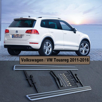 For Volkswagen Touareg 2011 2016 Running Boards Auto Side Step Bar Pedals High Quality Nerf Bars