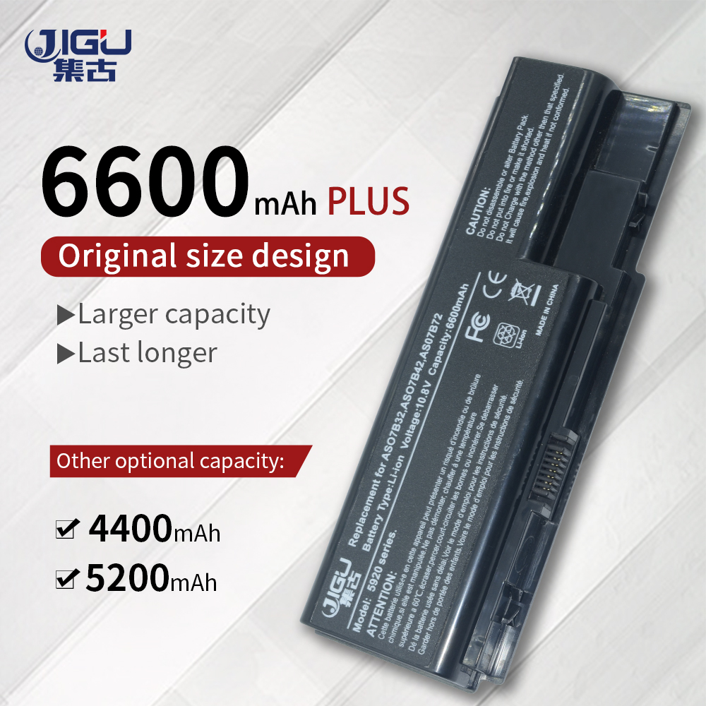 JIGU Laptop Battery For Acer Aspire 7720ZG 7730 7730G 7730Z 7730ZG 7735 7735Z 7735ZG 7736G 7736Z 7738 7738G 7740 7740G LaptopJIGU Laptop Battery For Acer Aspire 7720ZG 7730 7730G 7730Z 7730ZG 7735 7735Z 7735ZG 7736G 7736Z 7738 7738G 7740 7740G Laptop