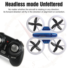 JXD 532 Mini-quadcopter Zangão Headless Modo Flip 3D Uma Chave de Retorno RC Drones Helicóptero VS JJRC H8 Mini Dron Melhores Brinquedos Para As Crianças