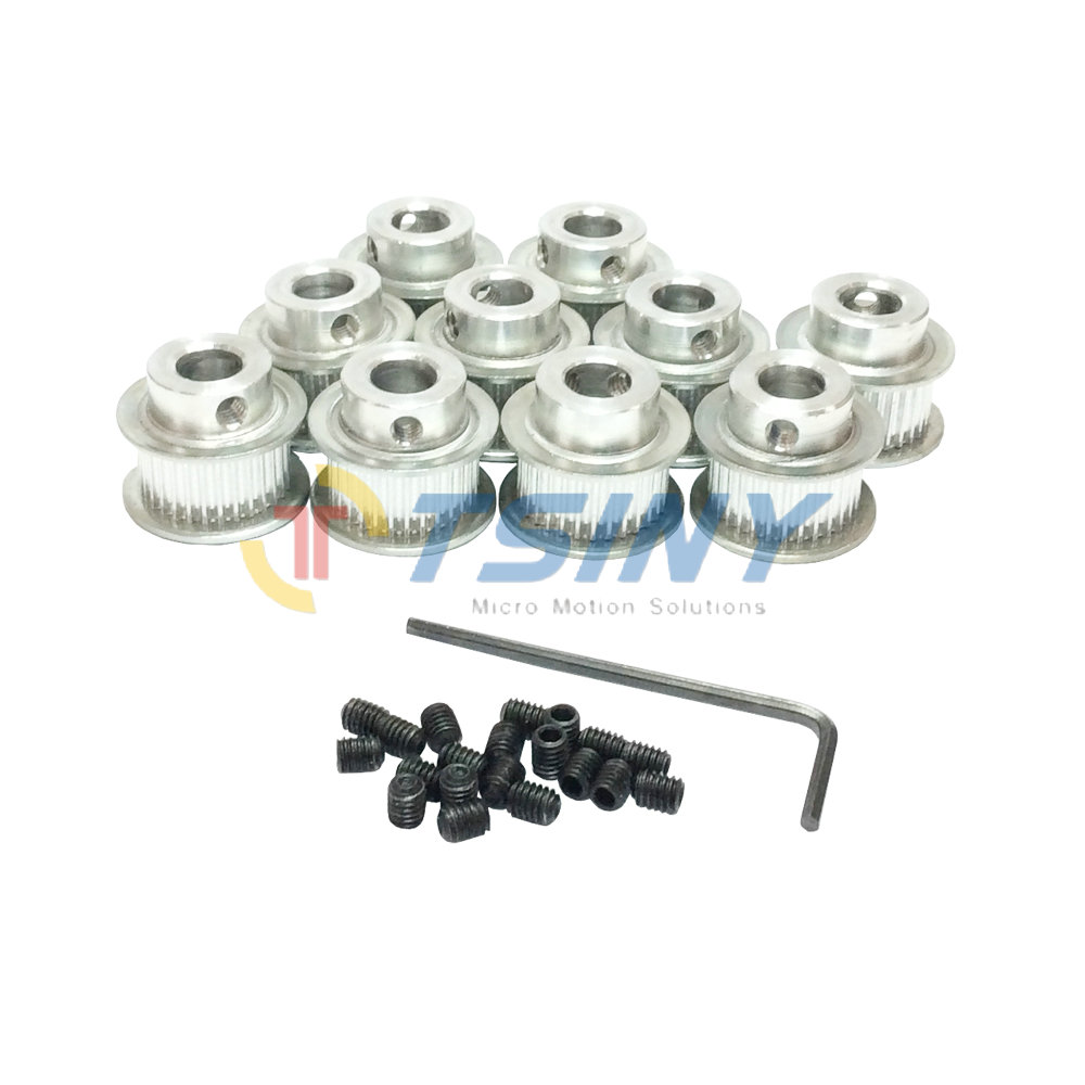 Aliexpress.com : Buy 10pcs Aluminium Timing Belt Idler