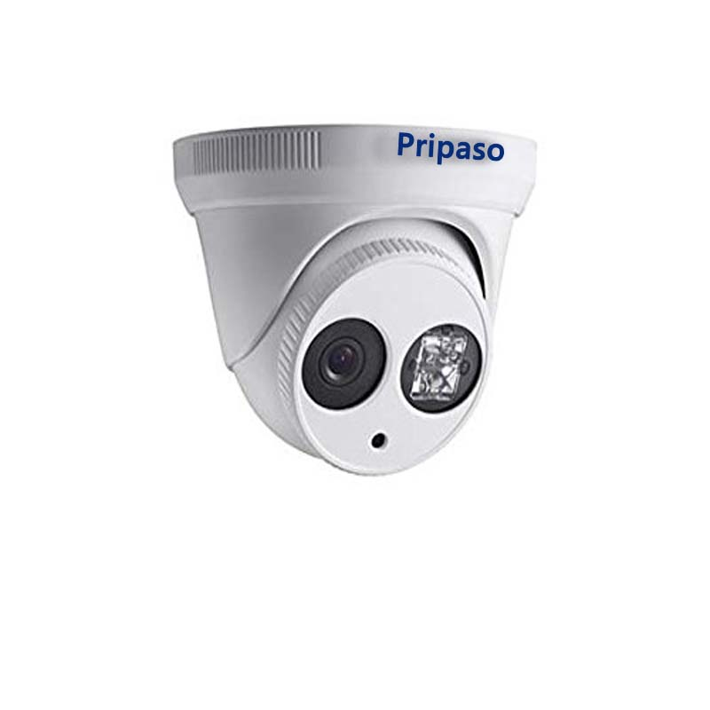 ФОТО Pripaso Network CCTV Dome 720P IP Camera HD Waterproof Home&Outdoor Security Surveillance 1MP Lens With IR-CUT