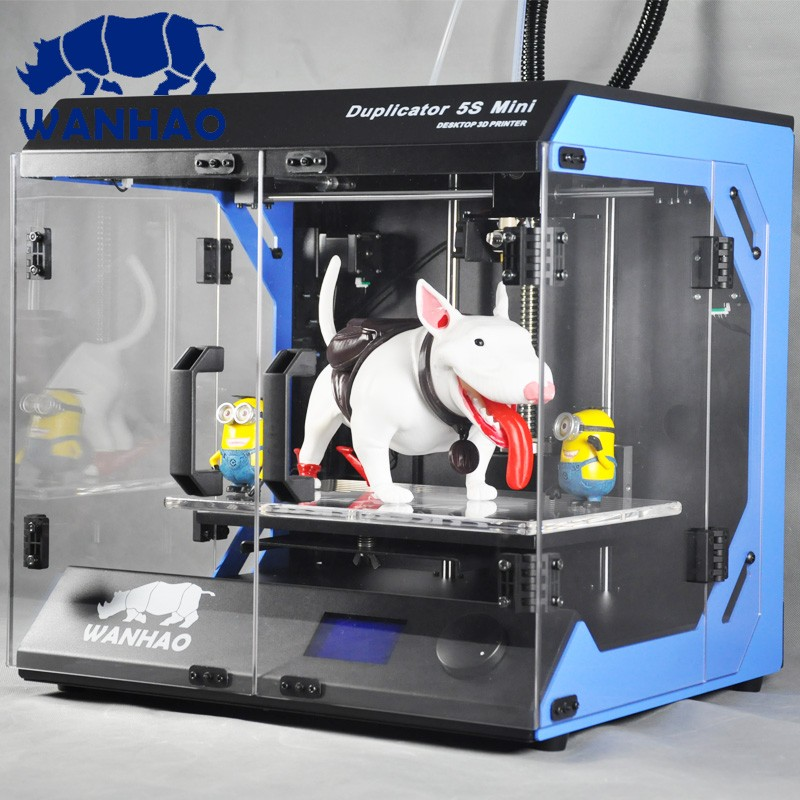 Wanhao D5S mini industrial level desktop 3D printer in high performance & accuracy, 1 kg filament free