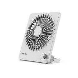 Przenośne mini USB ładowania mały wentylator składany ręczny regulowany Ultra cienka chłodnica wiatrak biurowy do dekoracji wnętrz biurowych w Wentylatory od AGD na
