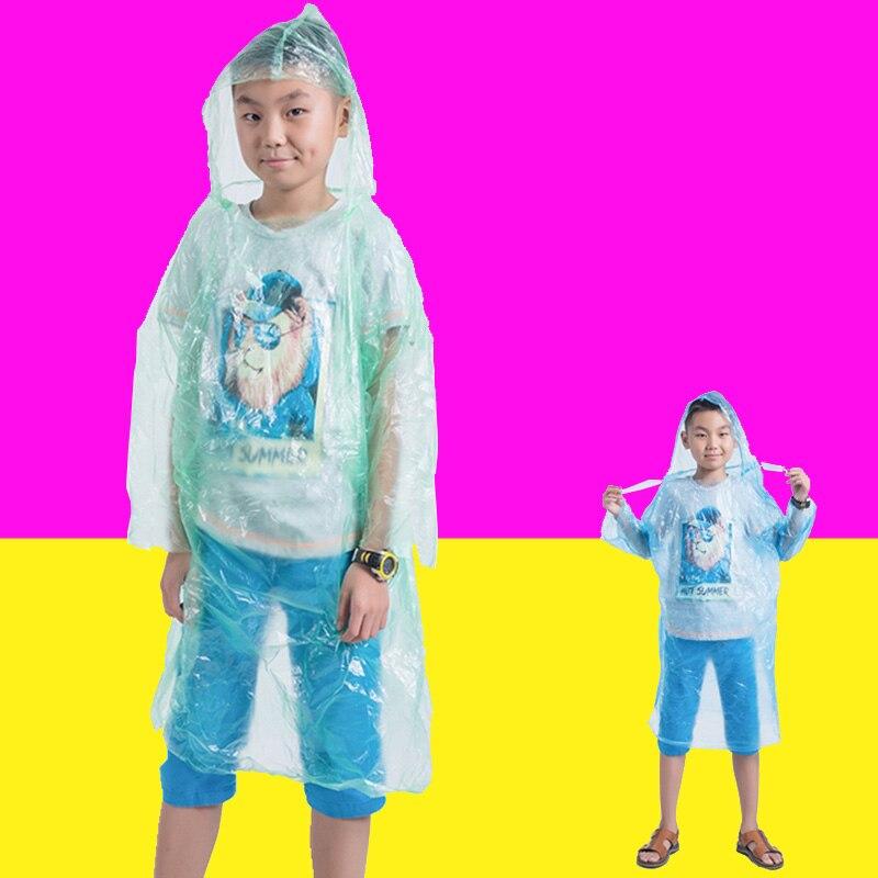 Djeca Kišni ogrtač Djeca Jednokratni nepromočiv kapuljačom s - Kućanski robe
