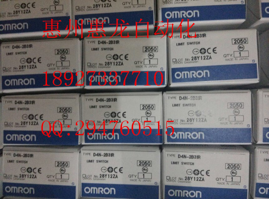 [ZOB] 100% brand new original authentic OMRON Omron limit switches D4N-2B31R factory outlets  --5PCS/LOT