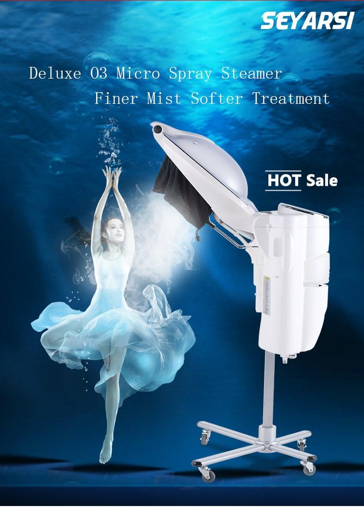 High Efficiecy O3 Hair Steamer O3 Hair Caring Machine Hair Processer Salon Use Hair Heater Deluxe Edition