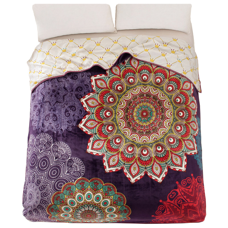 Size: Comfortably fits twin, full, queen and king size beds. The twin is 60 x 90, the full/queen is 90 x 90, and the king is x 90 inches. Warmth: All season; Border: 1 inch stitched; Reverse: Same; Fabric height: Medium-High; Nothing compares to our exceptionally soft and silky PrimaLush blankets.