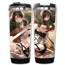 Attack on Titan Double Insulation Mug Coffee Cup plastic and stainless steel (2 types)