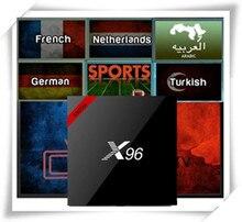 FrenchTV X96 Android 7.1 S905W 2G/16G With French/Arabic/Netherland/Turkish/India/EX-YU/UK/CA/Africa/Germany/Swenish/Portugal