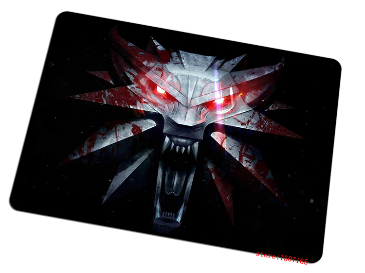 9 size cool The Witcher mouse pad Customized large pad to mouse computer mousepad wild hunt gaming mouse mats to mouse gamer