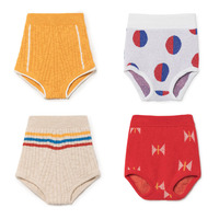 BBK Pre Sale 18 Baby Girls Knitted Shorts Bobo Choses Kids Shorts Candy Color Girls Short