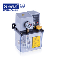 JIANHE FOP Automatic Lubrication Pump PLC 220V 3Liter for mill,punch,grinder,drill,CNC machine tool