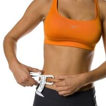 Gráficos de Medição de Gordura corporal Aptidão de Saúde Pessoal Body Fat Caliper Tester de Medição Escala De Medição De Gordura do Abdômen