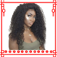 Curly Full Lace Human Hair Wigs 13x6 Lace Front Wig For Women Black Pre Plucked 150 Glueless Brazilian Lace Frontal Wig Wig Remy