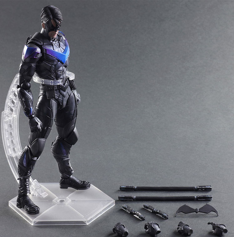 Free Shipping 11 PA KAI Dick Grayson - Nightwing First Robin Boxed 27cm PVC Action Figure Collection Model Doll Toy Gift