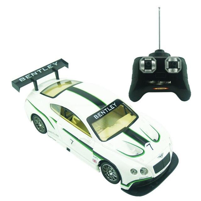 Лицензия 1/24 РАДИОУПРАВЛЯЕМАЯ Модель Автомобиля Для Bentley GT3 Дистанционного Управления Управления По Радио Гоночный автомобиль Дети Toys Для Детей Рождественские подарки