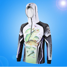 Outdoor Fisherman Clothing Monofin Fishing Sunscreen Shirt Clothings Durable Quick Dry UV Protection Clothing can be Customized