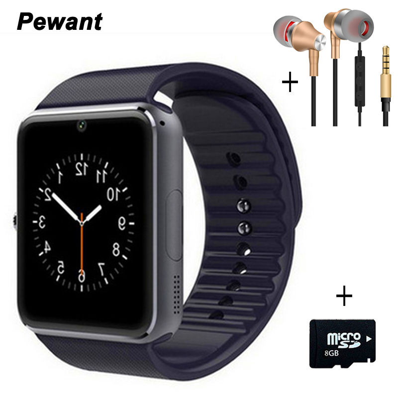 Best Seller Bluetooth Smart Watch GT08 For Android WristWear With Sim Card Camera Smart Clock Passometer