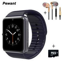 Лучшие Best продавец Bluetooth Smart часы gt08 для Android Wristwear с сим-карты Камера умные часы Шагомер синхронизации smartwatches
