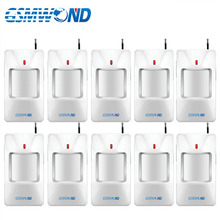 433MHz Wireless motion detector infrared detectors motion sensor alarm for Our Home Burglar Wifi GSM alarm