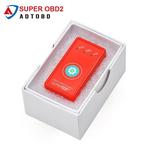 Super OBD2 Prower Prog Diesel Same Function As NitroOBD2 Better Than NitroOBD Car Chip Tuning Box Plug Drive Nitro OBD OBD2