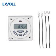 interruptor temporizador programmable timer time switch relay light timer programmable relay din rail timer timer ac