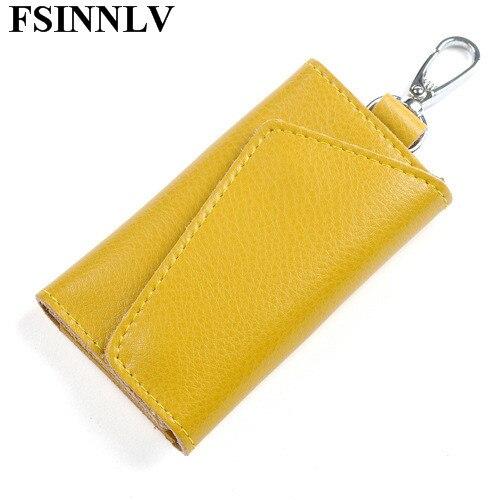 unisex 10 cores organizador chave Composição : Genuine Leather