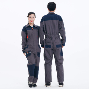 Image 2 - Men Women Overalls Labor protective Work clothing Dust proof Comfortable Breathable Machine Auto repair Long sleeve Coveralls