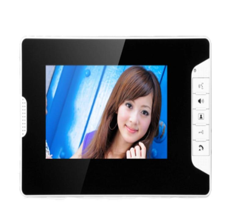 7 Inch TFT Monitor IR Night Vision Wired Intercom Video Door Phone 813-FA