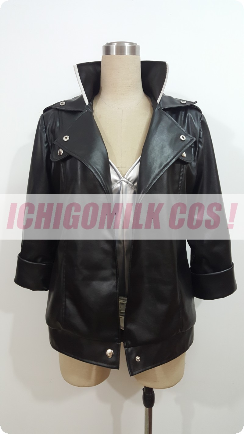 game anime <font><b>Ghost</b></font> <font><b>in</b></font> <font><b>the</b></font> <font><b>Shell</b></font> Kusanagi Motoko cosplay <font><b>costume</b></font> Uniform Suit jacket custom made image