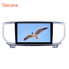 Seicane 2din 9 inch GPS Navi Radio Android 8.1 for Kia Sportage R 2018-2019 with Bluetooth HD Touchscreen USB support Carplay