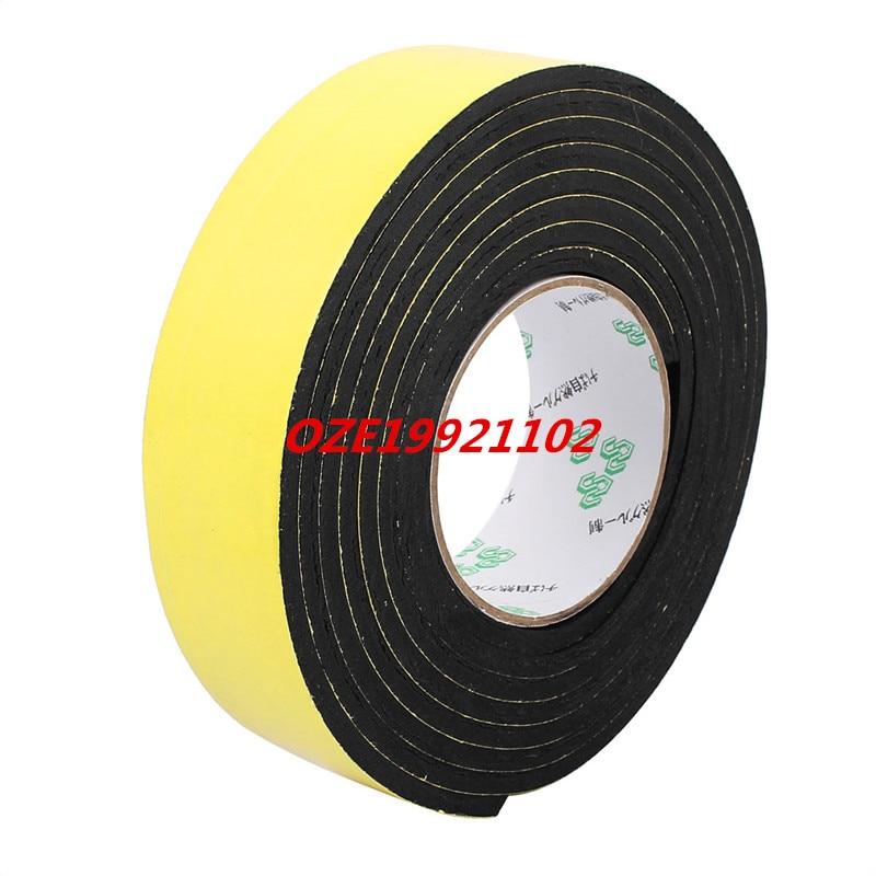 40mm x 5mm Single Sided Self Adhesive Shockproof Sponge Foam Tape 3 Meters 45mm 33 meters 0 08mm single sided high