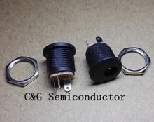 Tuerca de tornillo de orificio redondo, toma de corriente de CC/salida/conector de buena calidad y ROHS, DC 022 500 5,5, 2,1 Uds.