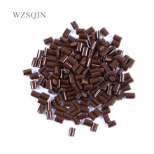 100g 4 Colors  White black yellow brown Keratin Glue Bead/Granule For Hair Extension Free Shipping