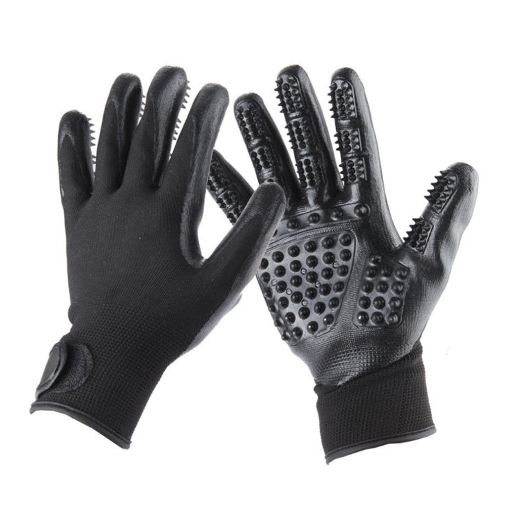 Pet Grooming Gloves For Cats & Dogs 15 » Pets Impress