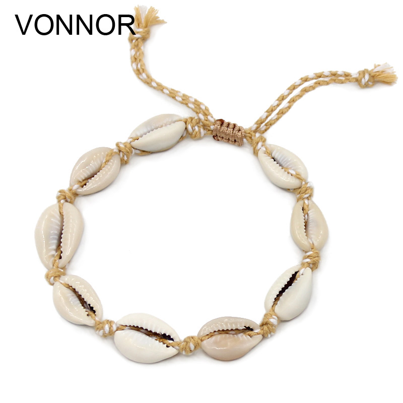 VONNOR Anklets for Women Foot Jewelry Beach Barefoot Sandals Bracelet anklet on the leg Female Ankle strap Bohemian Accessories