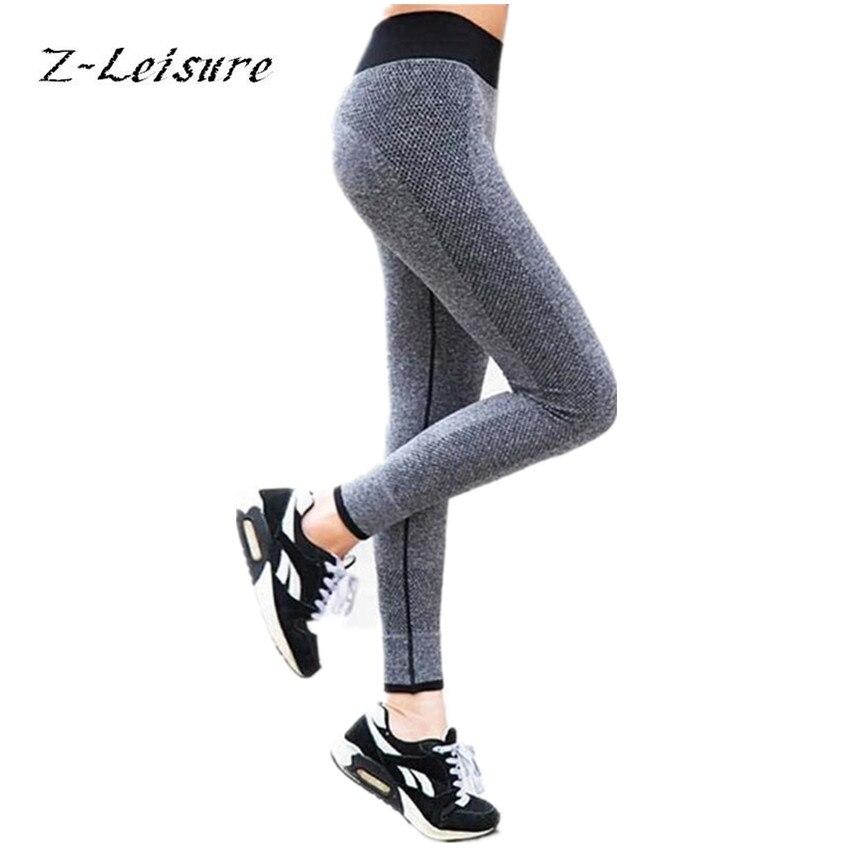 Prix pour Z-Loisirs Femmes Fitness Leggings Marque Yoga Pantalon Élastique Confortable Super Extensible Entraînement Pantalon Sport Vêtements YG024