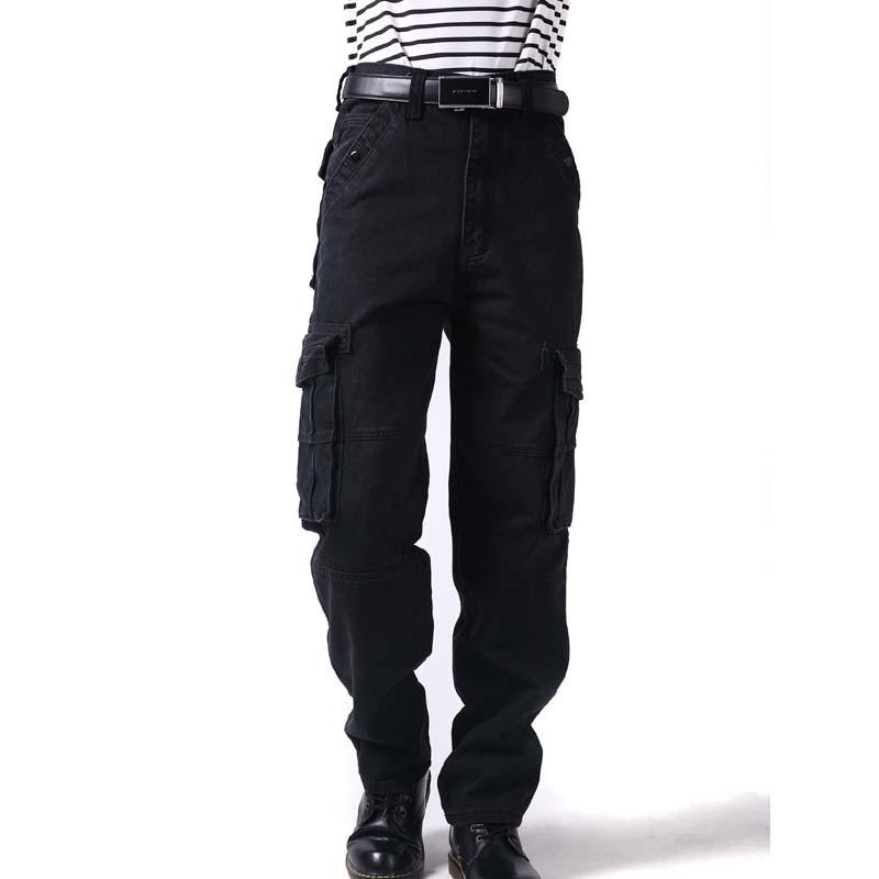 أزياء كبير حجم 46 الرجال السراويل الهيب هوب مواسم الترفيه فضفاض الرجال الهيب هوب البضائع السراويل جديد فضفاض سراويل طويلة الذكور قيعان-في السراويل بجيوب جانبية من ملابس الرجال على  مجموعة 3