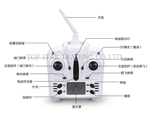 YiZhan Tarantula X6 remote controller transmitter 5MP RC Quadcopter Helicopter Spare Parts  yizhan tarantula x6 quadcopter spare part 720p 2 0mp camera high quality toy accessory set remote control drone dron toys parts