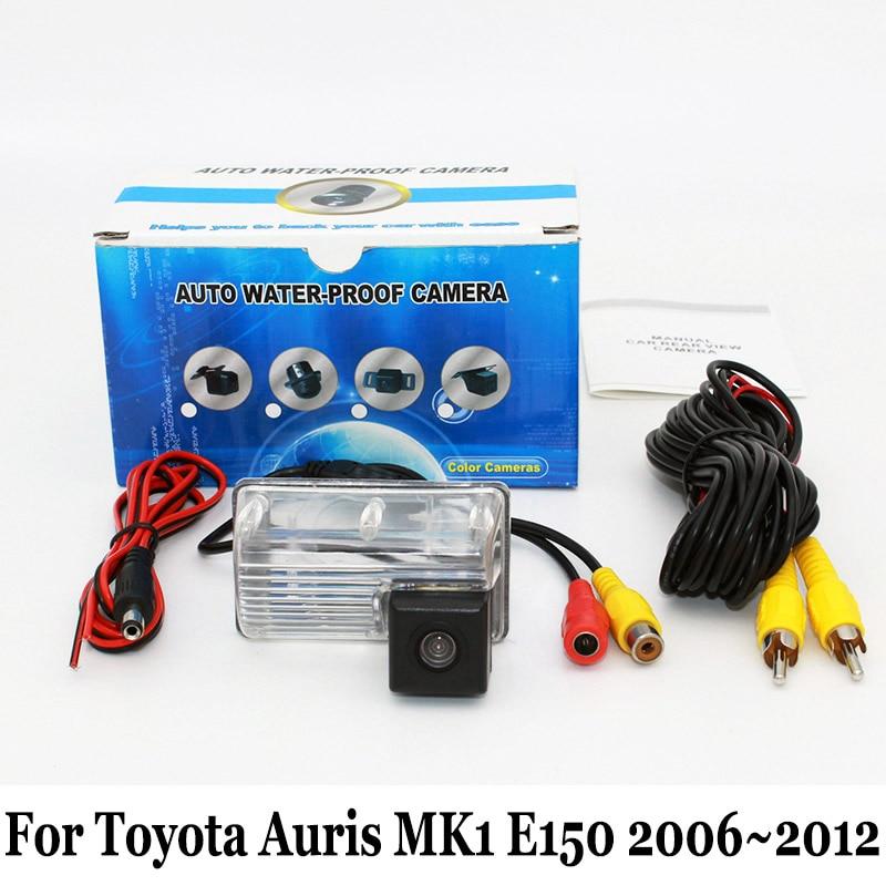 מצלמה צפה האחורי עבור טויוטה Auris MK1 E150 2006 ~ 2012 / RCA Wired או אלחוטי CCD לילה חזון HD רחב עדשה זווית חניון מצלמה