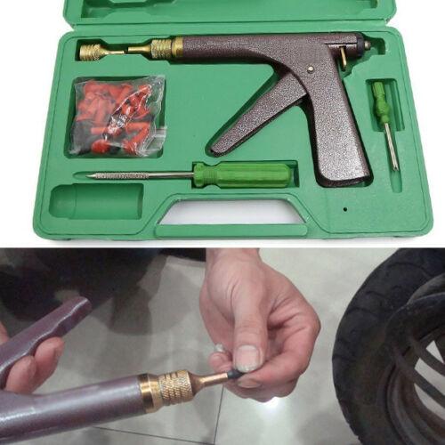 Universal Vacuum Tire Repair Gun Kits Motorcycle Car Plug Rubber Tyre Wheel Repair Gun Kit