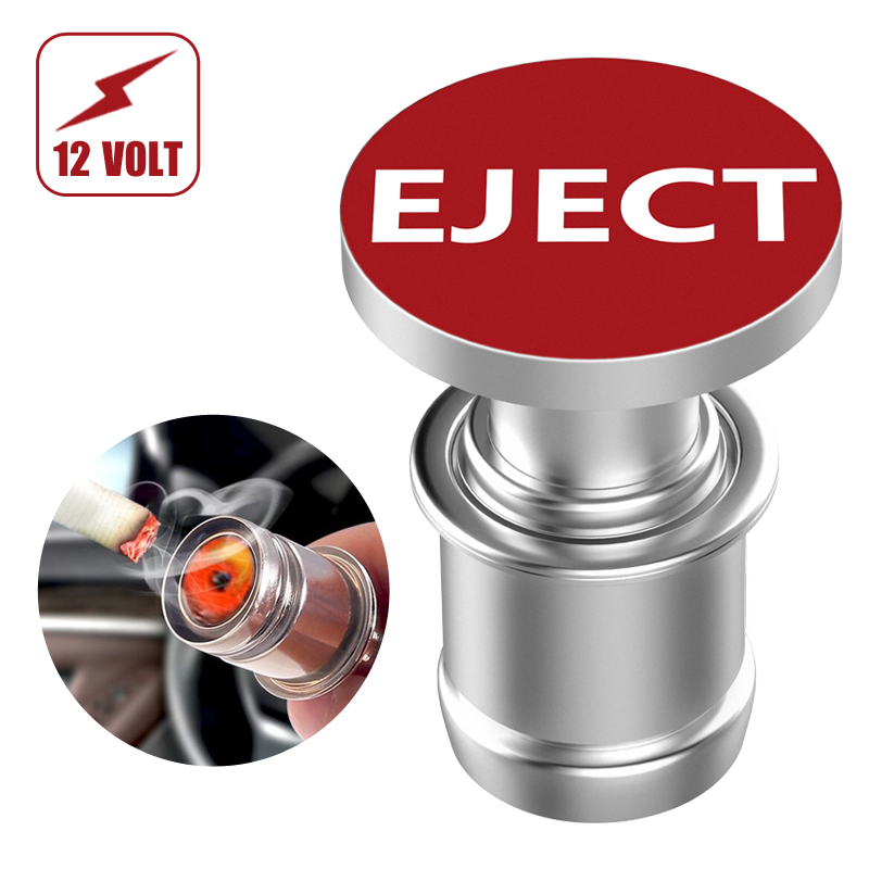 Car Cigarette Lighter EJECT Button Replacement 12V Accessory Push Button Fits Most Automotive Vehicles by Citadel цены онлайн