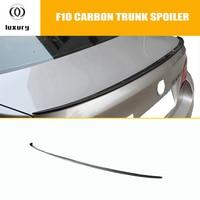 M5 Style F10 Carbon Fiber Rear Trunk Spoiler for BMW F10 M5 520i 528i 530i 535i 520d 525d 530d 535d 2010   2016 Spoilers & Wings     -