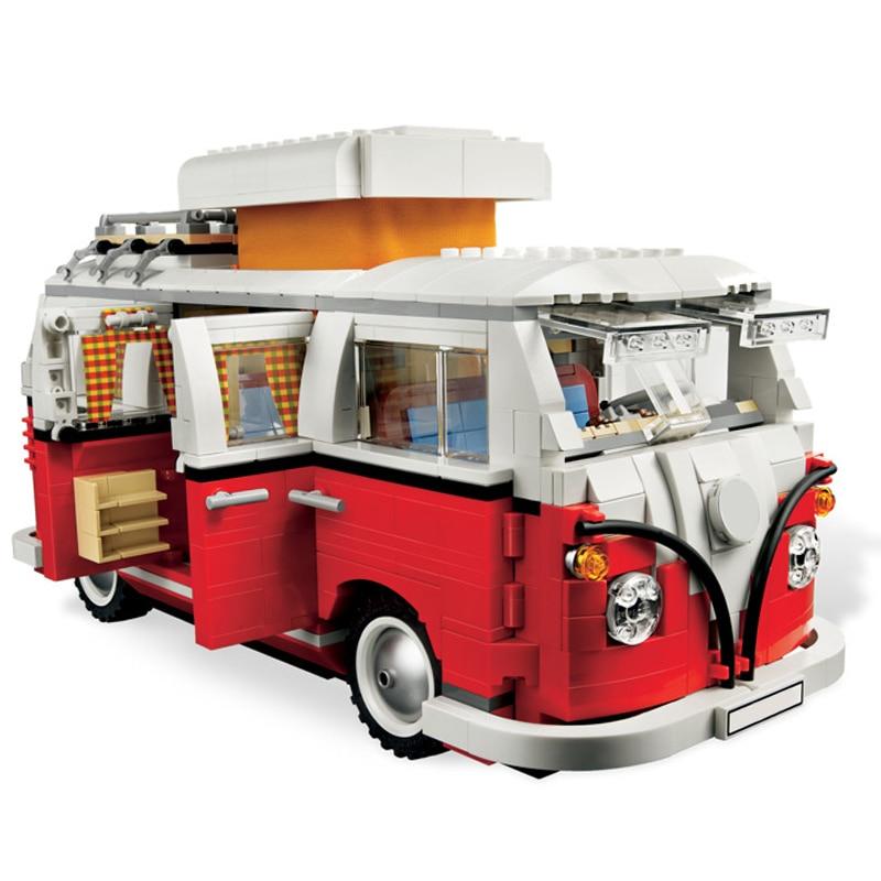 21001 Volkswagen T1 Camper 21003 Beetle 21002 Cooper Building Blocks Bricks Toys Compatible Legoing 10220 10252