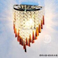 Moderno e Luxuoso Decorativo Lamp Uso Da Lâmpada de Parede de Cristal de Alta Qualidade K9 E14|crystal wall lamp|wall lamp|wall crystal lamps -