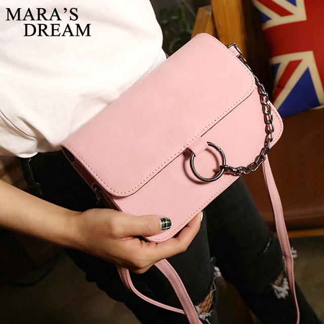Fashion Leather Small Flap Women Crossbody Bag Chain Messenger Shoulder Bag