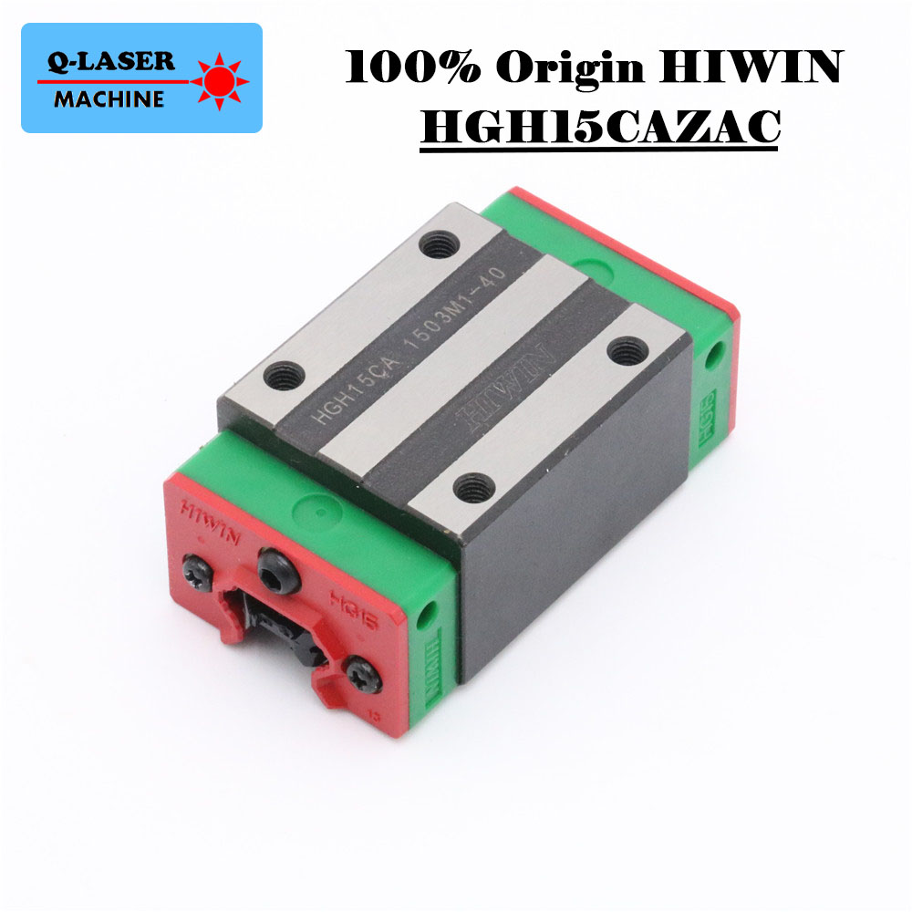 Taiwan Hiwin linar Square Rails Sliders HGH15CAZAC Bearing Block CarriageTaiwan Hiwin linar Square Rails Sliders HGH15CAZAC Bearing Block Carriage